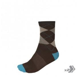 VÝPREDAJ Argyll štýlové športové ponožky (2-balenie)